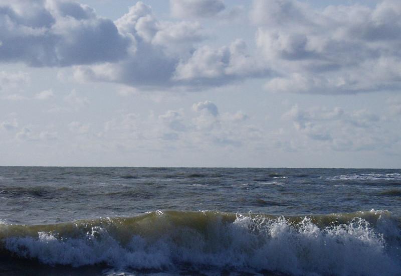 Brandung am Meer.