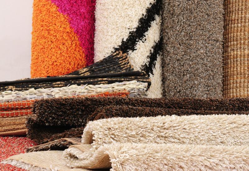Verschiedene Teppiche