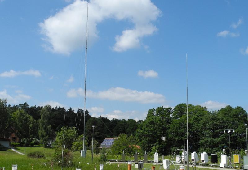 Neuglobsow air monitoring station