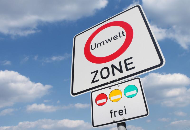 Umweltzone Straßenschild