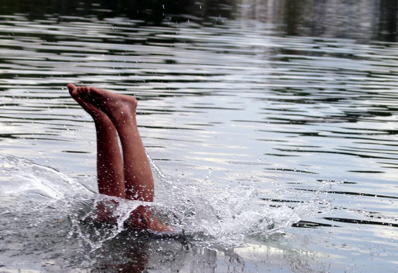 Ein Badegewässer