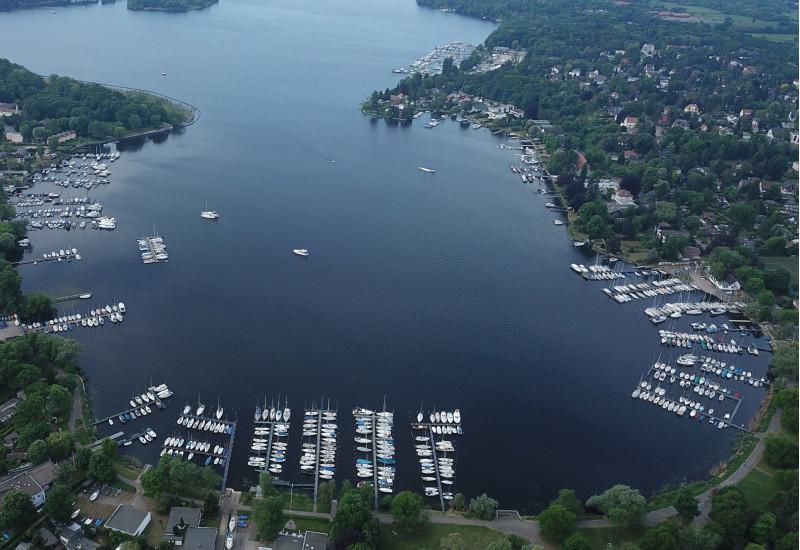 Marina für Sportboote