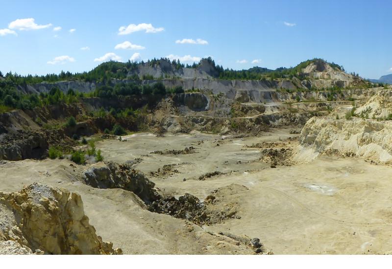 Stillgelegter Bergbau in Rumänien