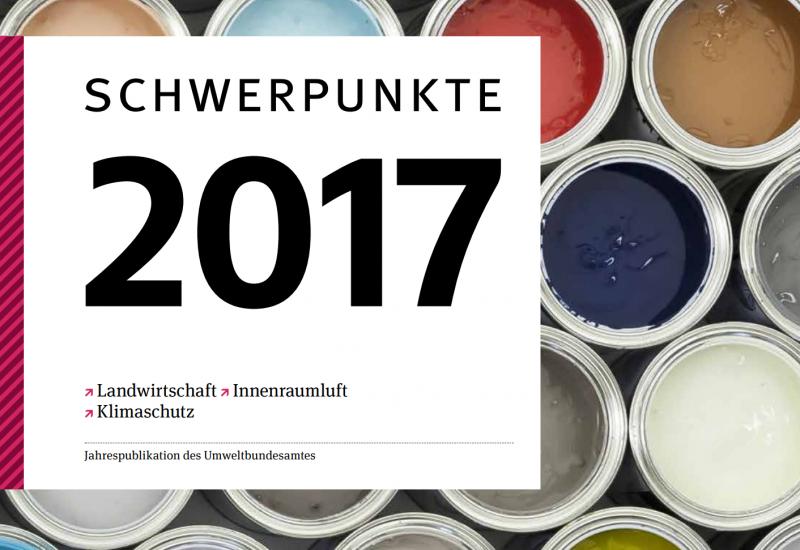 Das Cover der Schwerpunkte 2017.