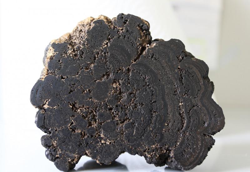 black manganese nodule