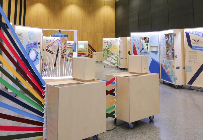 Foto der Ausstellung in Osnabrück