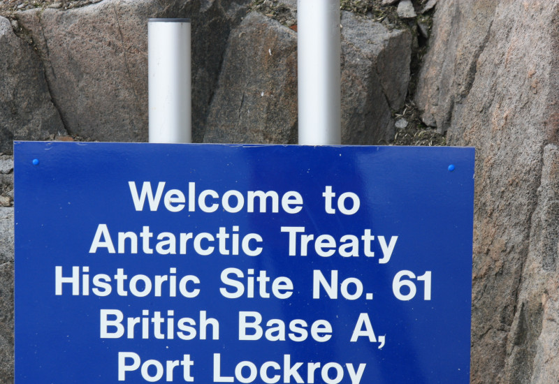 The former British base Port Lockroy is a protected historic site.