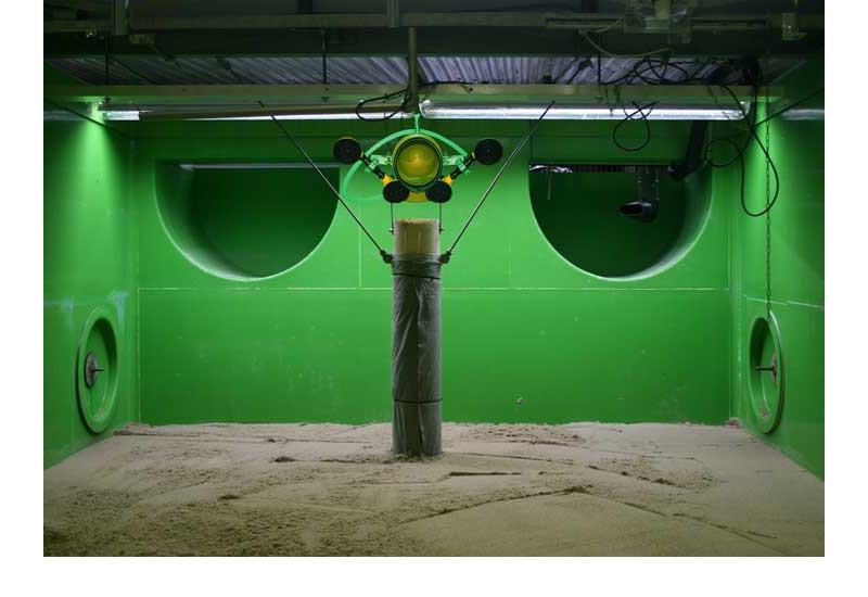 Fließwasser-Simulationsanlage