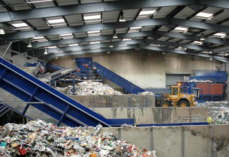 Mülltrennanlage