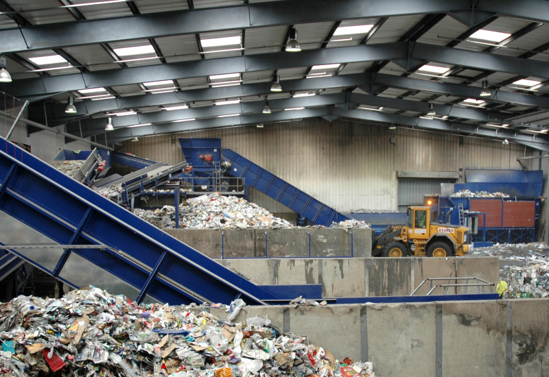 Waste sorting facilitie