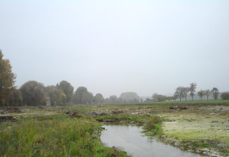 Entwicklungsplanung Werse - Nach Ausbau, Herstellung Sekundäraue (25-10-2012)