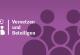 Icon und Hintergrundbild zu vernetzen und beteiligen mit Personenumrissen