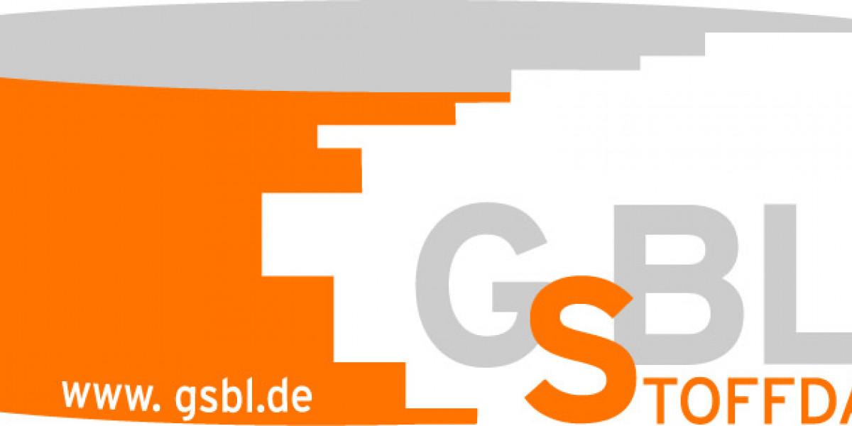 Logo des Gemeinsamen zentralen Stoffdatenpools von Bund und Ländern (Schriftzug: GSBL)