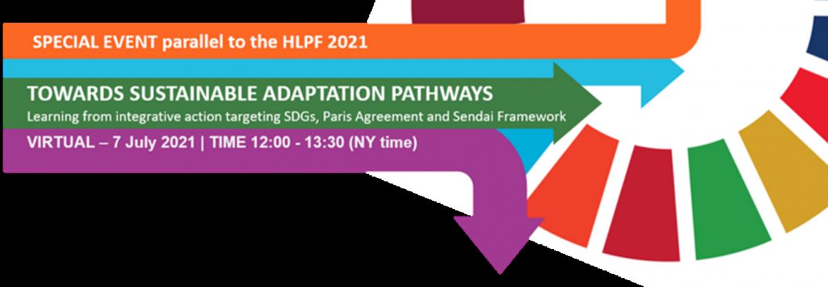 Grafik zum Event parallel zu den Sustainable Adaptation Pathways 2021