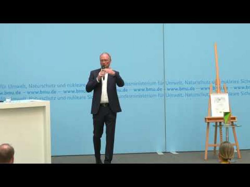 Video-Mitschnitt Preisverleihung Bundespreis UMWELT & BAUEN vom 29.09.2020