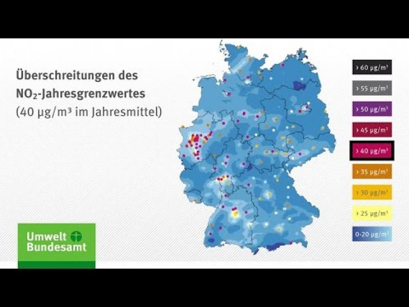 Luftqualität 2014: Auswertung der Stickstoffdioxidwerte; Stand: Dezember 2015