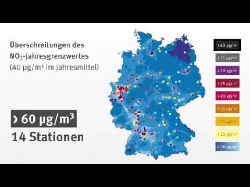 Luftqualität 2015: Auswertung der Stickstoffdioxidwerte; Stand: Dezember 2016