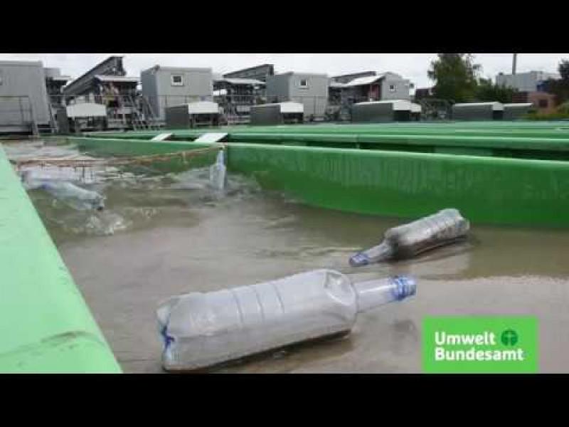 Fließ- und Stillgewässer-Simulationsanlage (FSA) in Berlin Marienfelde