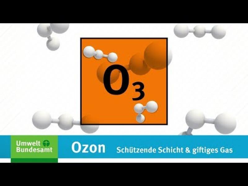 UBA-Erklärfilm: Ozon – Schützende Schicht und giftiges Gas