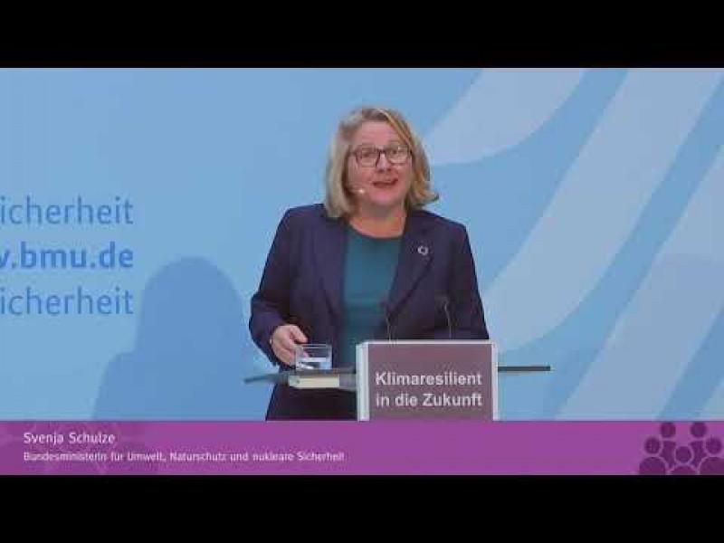 Klimaresilient in die Zukunft – Konferenz zum Fortschrittsbericht zur Deutschen Anpassungsstrategie