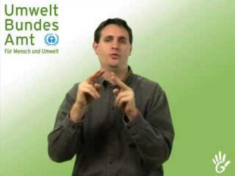 Gebärdensprachfilm: Teil 1: Die Aufgaben des Umweltbundesamtes