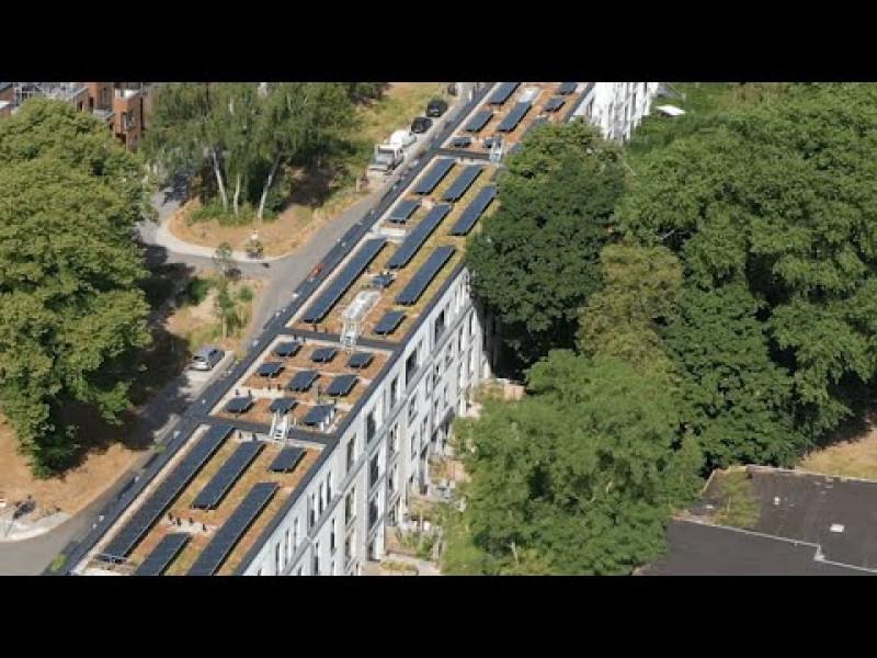 ARGE MUDLAFF & OTTE / Studio Witt / MoRe Architekten, Stadthäuser StadtFinken Hamburg (Preisträger Bundespreis UMWELT & BAUEN, Kategorie Wohngebäude)