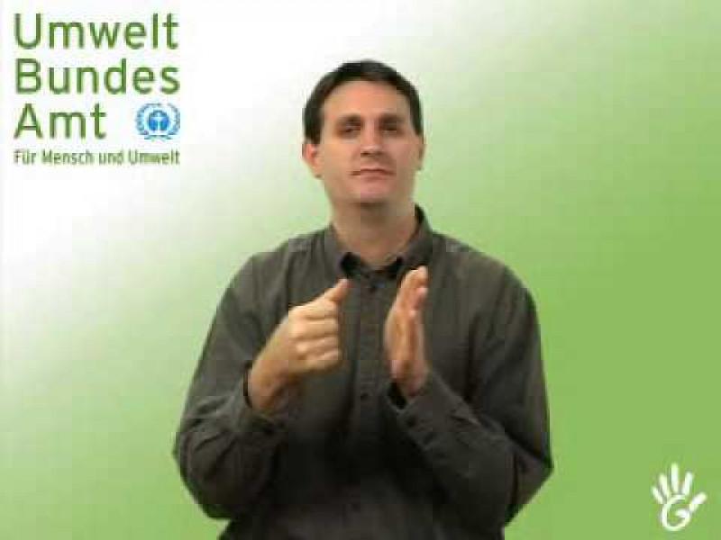 Gebärdensprachfilm: Teil 3: Die Arbeit der Fachbereiche des Umweltbundesamtes