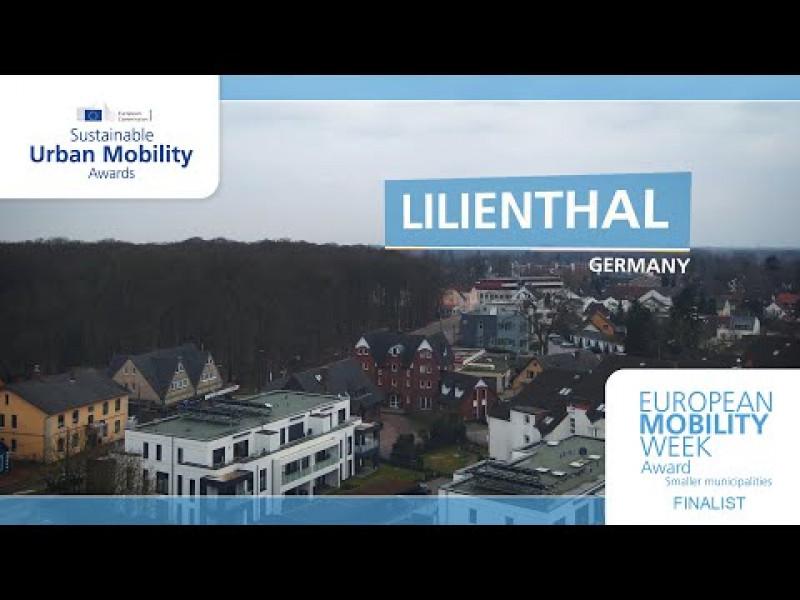 Lilienthal wurde 2020 mit dem Preis für das beste Programm kleinerer Kommunen während der EUROPÄISCHEN MOBILITÄTSWOCHE ausgezeichnet