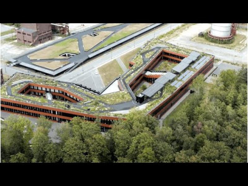 """kadawittfeldarchitektur, """"Kreislaufhaus"""" Verwaltungsgebäude RAG Stiftung, Essen (Anerkennung Bundespreis UMWELT & BAUEN, Kategorie Sonderpreis)"""